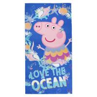 TOWEL POLYESTER PEPPA PIG