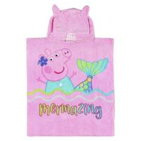 PONCHO COTON APPLICATIONS PEPPA PIG