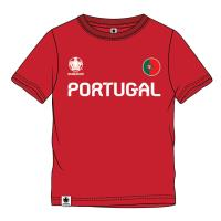 T-SHIRT MANGA CURTA SINGLE JERSEY EUROCUP PORTUGAL