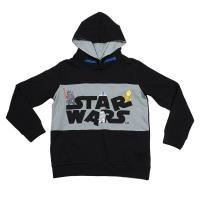 FELPA CON CAPPUCCIO COTTON BRUSHED STAR WARS