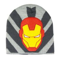 BONNET AVEC DES APPLICATIONS AVENGERS IRON MAN