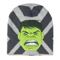 HAT WITH APPLICATIONS AVENGERS HULK