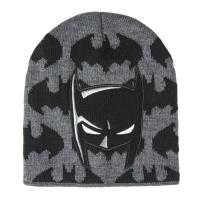 BONNET AVEC DES APPLICATIONS BATMAN