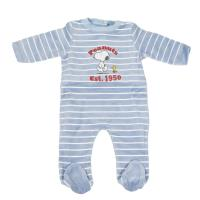 BABYGROW VELOUR COTTON SNOOPY