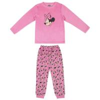 PIJAMA LARGO VELOUR COTTON MINNIE