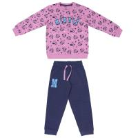 TRACKSUIT 2 PIECES COTTON BRUSHED MINNIE