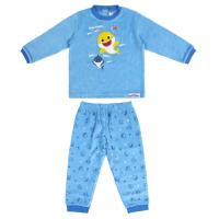 PIJAMA LARGO VELOUR COTTON BABY SHARK
