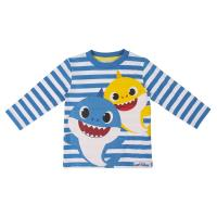 T-SHIRT MANGA COMPRIDA SINGLE JERSEY BABY SHARK