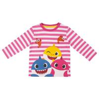 T-SHIRT MANCHES LONGUES SINGLE JERSEY BABY SHARK