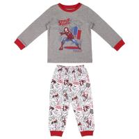 LONG PAJAMAS INTERLOCK SPIDERMAN