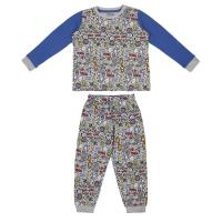 PIJAMA LARGO INTERLOCK AVENGERS