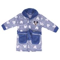 DRESSING GOWN GLOW IN THE DARK CORAL FLEECE MICKEY