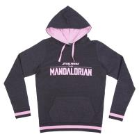 SWEAT-SHIRT AVEC CAPUCHE COTTON BRUSHED THE MANDALORIAN THE CHILD