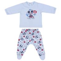 SET 2 PIECES SINGLE JERSEY MICKEY