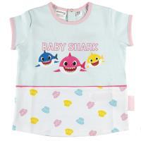 PIJAMA CORTO SINGLE JERSEY BABY SHARK 1