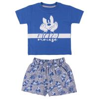 PYJAMA COURT SINGLE JERSEY MICKEY