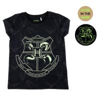 T-SHIRT GLOW IN THE DARK SINGLE JERSEY HARRY POTTER