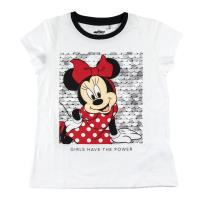 T-SHIRT MANCHES COURTES COTON SINGLE JERSEY MINNIE