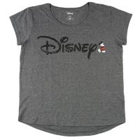 CAMISETA CORTA PREMIUM ACID WASH SINGLE JERSEY DISNEY