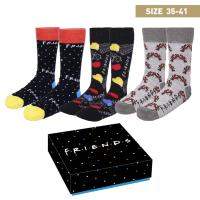 SOCKS PACK 3 PIECES FRIENDS