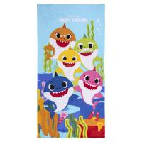 TOWEL POLYESTER BABY SHARK