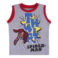 PYJAMA COURT BRETELLES SINGLE JERSEY SPIDERMAN 1