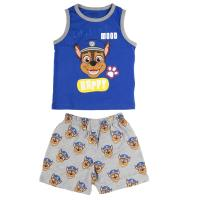 SHORT PAJAMAS SUSPENDERS SINGLE JERSEY PAW PATROL