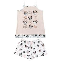 PIJAMA CURTO SUSPENSÓRIOS SINGLE JERSEY MINNIE
