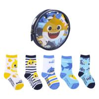 PACK CHAUSSETTES 5 PIÈCES BABY SHARK