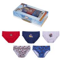 BOXERS PACK 5 PIECES SPIDERMAN