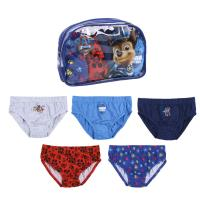 BOXERS PACK 5 PIECES PAW PATROL MOVIE