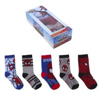 SOCKS PACK 5 PIECES SPIDERMAN