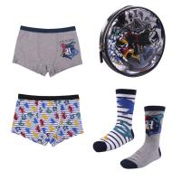BOXER AND SOCKS PACK 4 PIECES HARRY POTTER