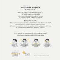 MASCARILLA HIGIÉNICA REUSABLE APPROVED BATMAN 18