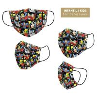 HYGIENIC MASK REUSABLE APPROVED DC COMICS