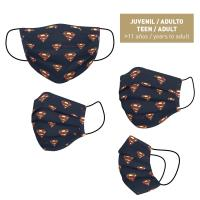 HYGIENIC MASK REUSABLE APPROVED SUPERMAN