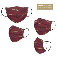 HYGIENIC MASK REUSABLE APPROVED HARRY POTTER