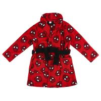 ROBE CORAL FLEECE SPIDERMAN