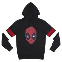 SWEAT CAPUCHE COTTON BRUSHED DEADPOOL