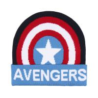 BONNET AVEC DES APPLICATIONS AVENGERS CAPITAN AMERICA
