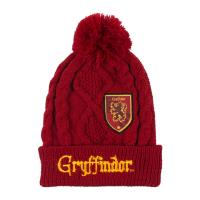 BONNET AVEC DES APPLICATIONS PATCH HARRY POTTER