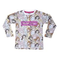 CAMISETA LARGA SINGLE JERSEY PRINCESS