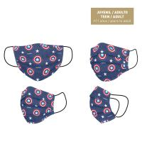 HYGIENIC MASK REUSABLE APPROVED AVENGERS CAPITAN AMERICA