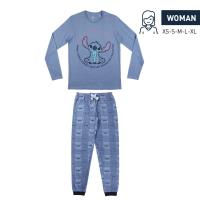 PIJAMA LARGO SINGLE JERSEY DISNEY STITCH