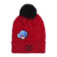 BONNET AVEC DES APPLICATIONS PATCH LADY BUG
