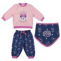 CHANDAL 3 PIEZAS COTTON BRUSHED MINNIE