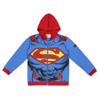 HOODIE COTTON BRUSHED SUPERMAN