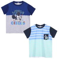 T-SHIRT MANCHES COURTES PACK x2 MICKEY