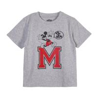 T-SHIRT MANCHES COURTES SINGLE JERSEY POINT MICKEY