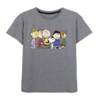 T-SHIRT MANCHES COURTES SINGLE JERSEY POINT SNOOPY